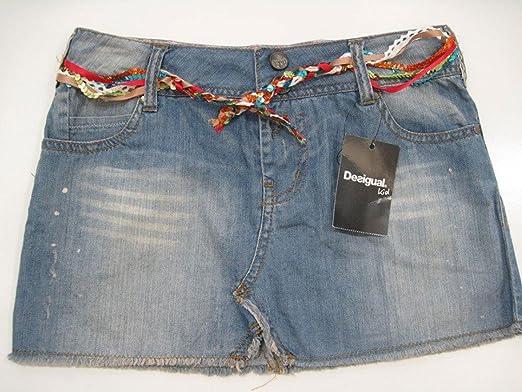 61c89338b Girls Desigual Fal House Denim Skirt 11/12years: Amazon.co.uk: Clothing