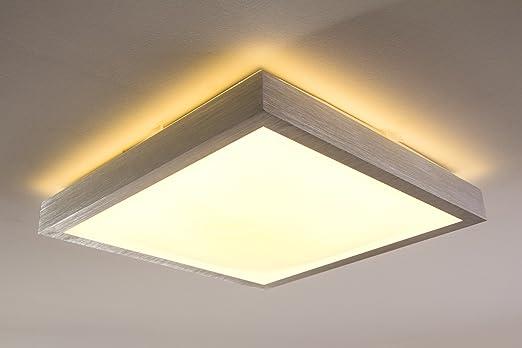 Quadratische LED Leuchte Für Badezimmer U2013 Küche U2013 Flur U2013 Esszimmer U2013 Eckige  Badleuchte Im Modernen