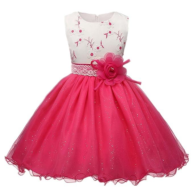 b089268f7 Baiduduozi Vestido - para niña Color2 7-8 Años  Amazon.es  Ropa y accesorios