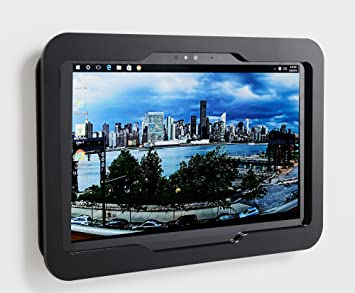 2017 Black Acrylic Security Enclosure w Wall Mount Kit 6 MS Surface Pro 3 4