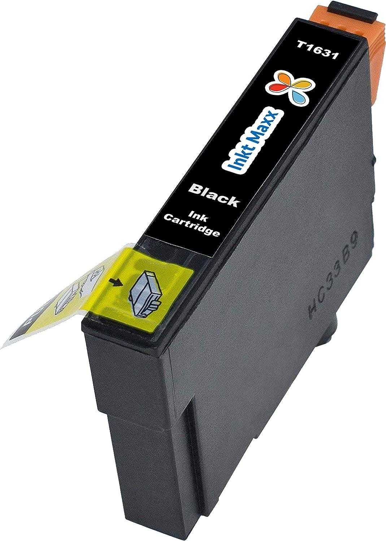 Ink Maxx PK 20 16XL Cartucho de Tinta Compatible para Epson ...
