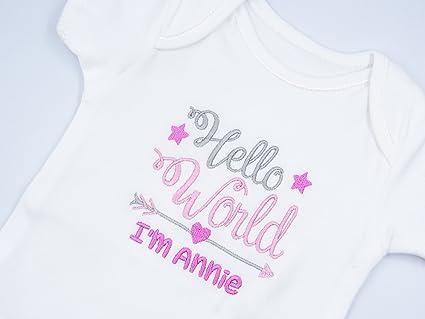 OUR BEAUTIFUL BABY GIRL VEST BABYGROW BODYSUIT NEWBORN GIFT BIRTH SHOWER ROMPER