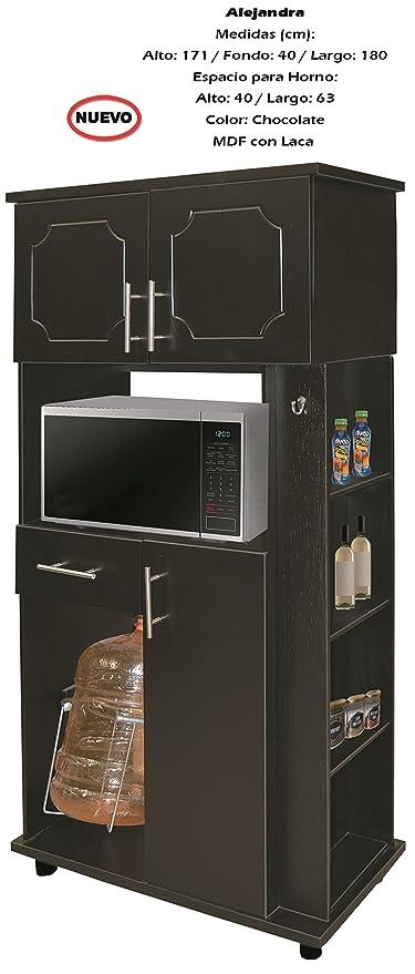 Mueble Para Cocina Modelo Alejandra  Amazon.com.mx  Hogar y Cocina 7f182ff7bda5