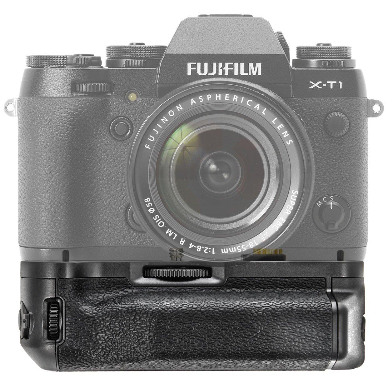 Meike MK XT de 1/empu/ñadura de bater/ía Empu/ñadura de bater/ía para Fujifilm X-T1/para m/ás tiempo de unidad de bater/ía y profesional Portraits