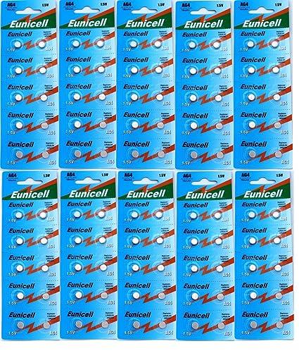 100 Pilas para Reloj de Pulsera AG4 LR626 377 SR626 606 - 1 - Paquete: Amazon.es: Hogar