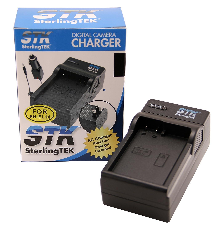 Amazon.com: STK de Nikon EN-EL14 Cargador – para Nikon D3200 ...