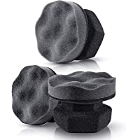BBTO 3 Pieces Tire Dressing Applicator Washable Tire Shine Applicator Dressing Pad Car Detailing Foam Sponge Reusable…