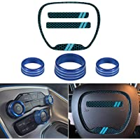 YASJBD Auto Car Styling Interior Car Aluminum Alloy Steering Wheel Shift Paddle Shifter Extension,for Hyundai Genesis Coupe 2009-2011