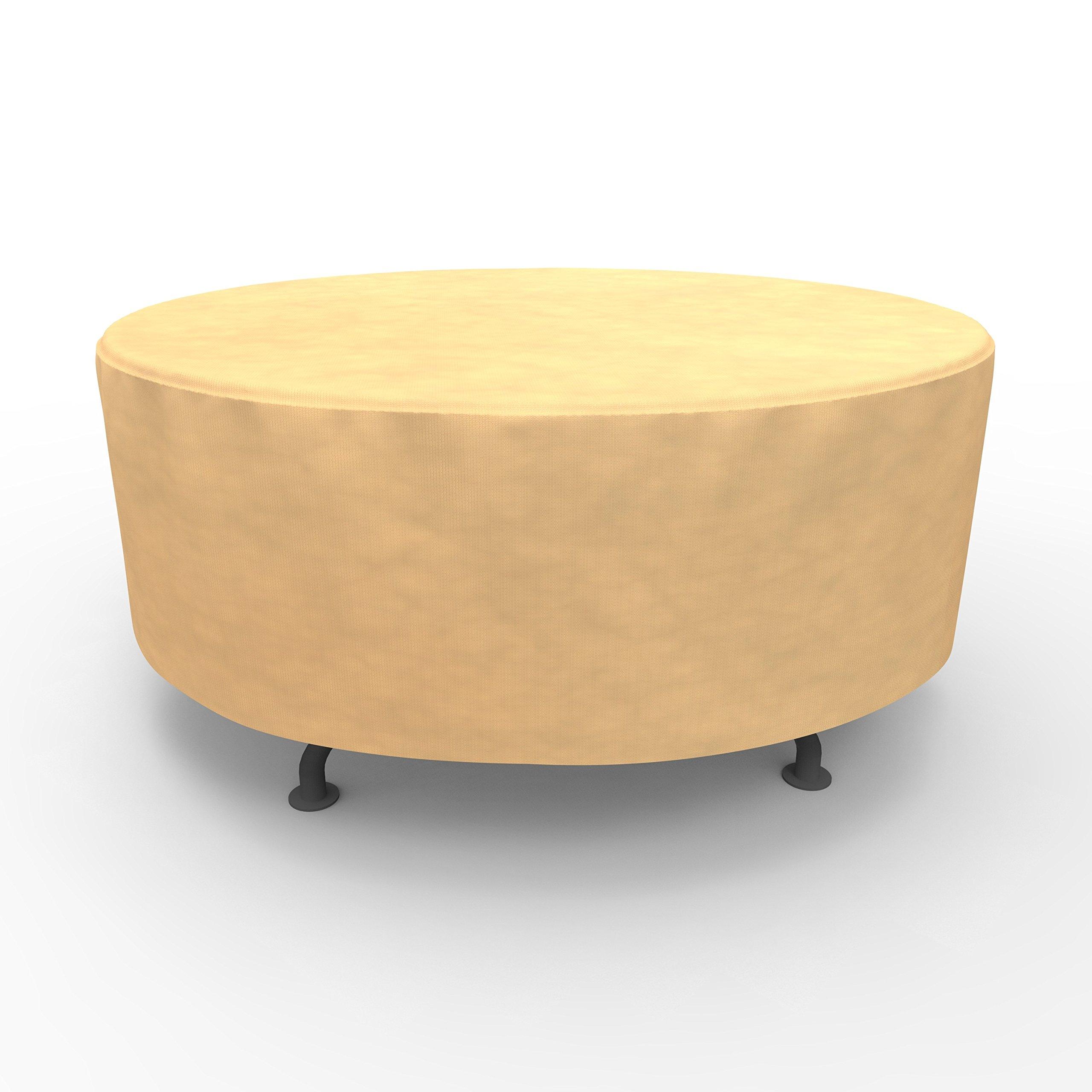EmpirePatio Round Table Covers 60 in Diameter - Nutmeg