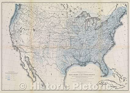 Amazon.com: Historic Map | U.S. Geographical and Geological ...