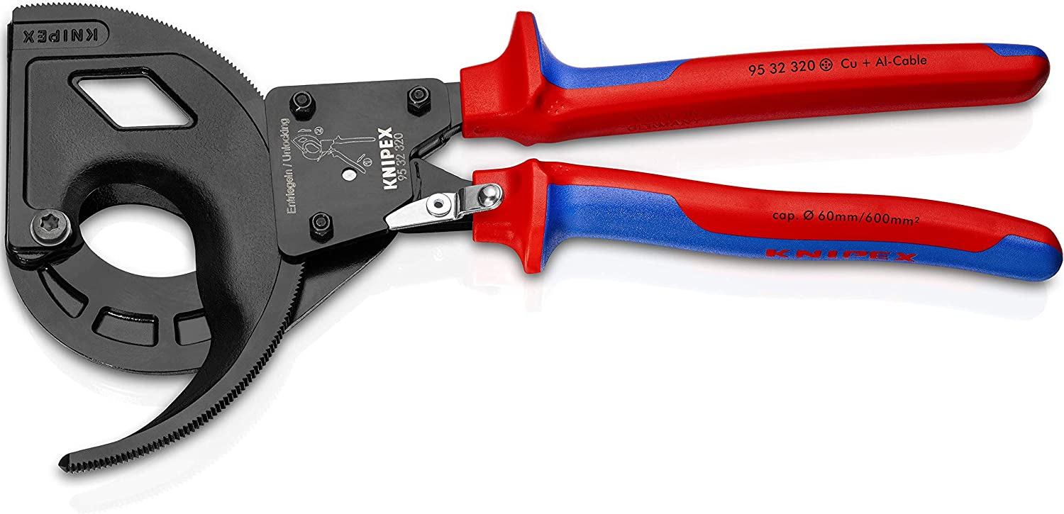 COMFORT GRIP 95 12 200 Knipex 8 inch CABLE SHEARS
