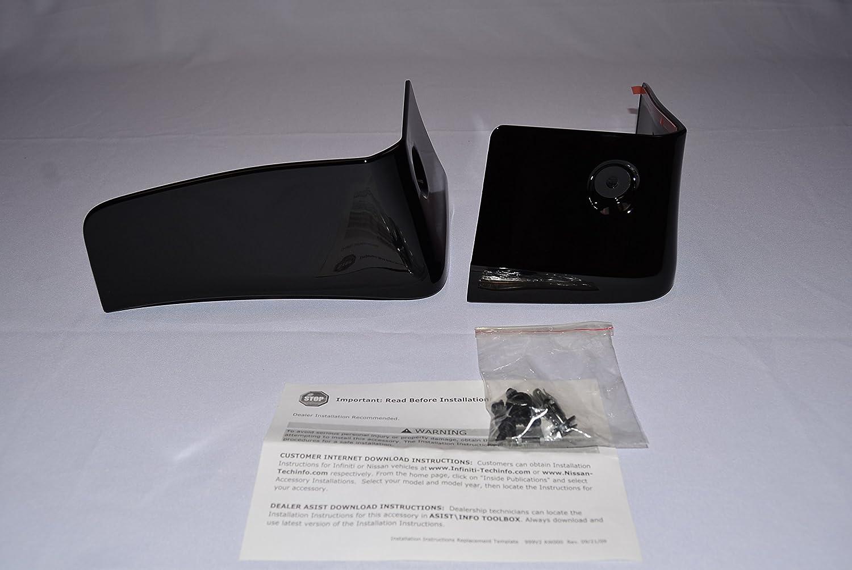 Amazon com: 2011-2013 Nissan Quest Splash Guards (Rear set