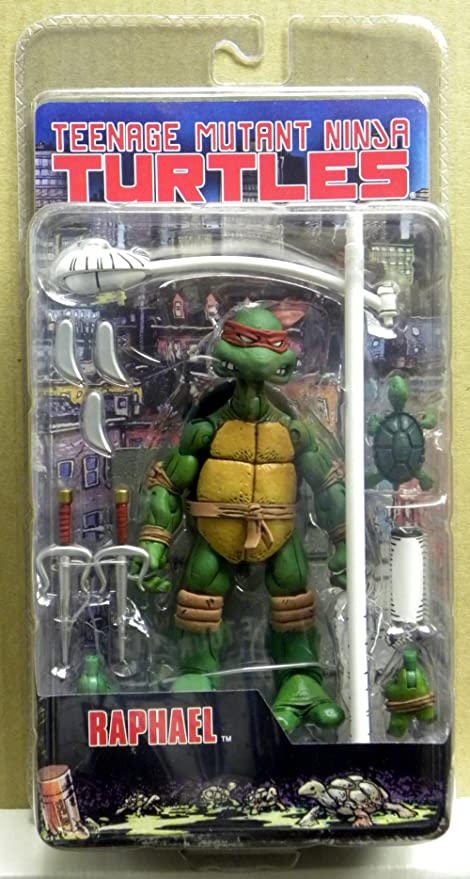 Amazon Com Teenage Mutant Ninja Turtles Neca Comic Style Action
