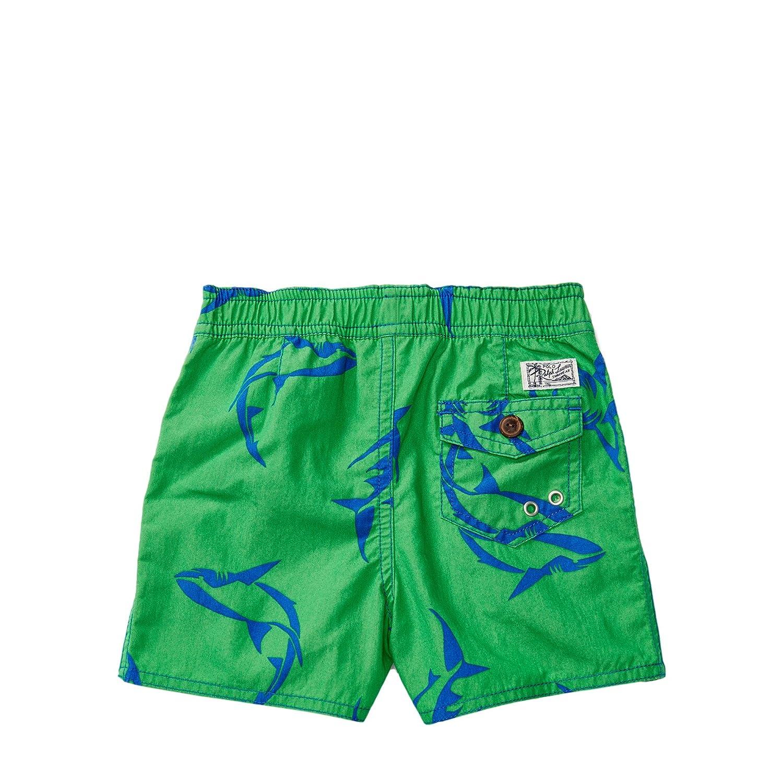 Amazon.com: Ralph Lauren Baby Boys Captiva Cotton-Blend Swim Trunk Sharks/Green:  Clothing