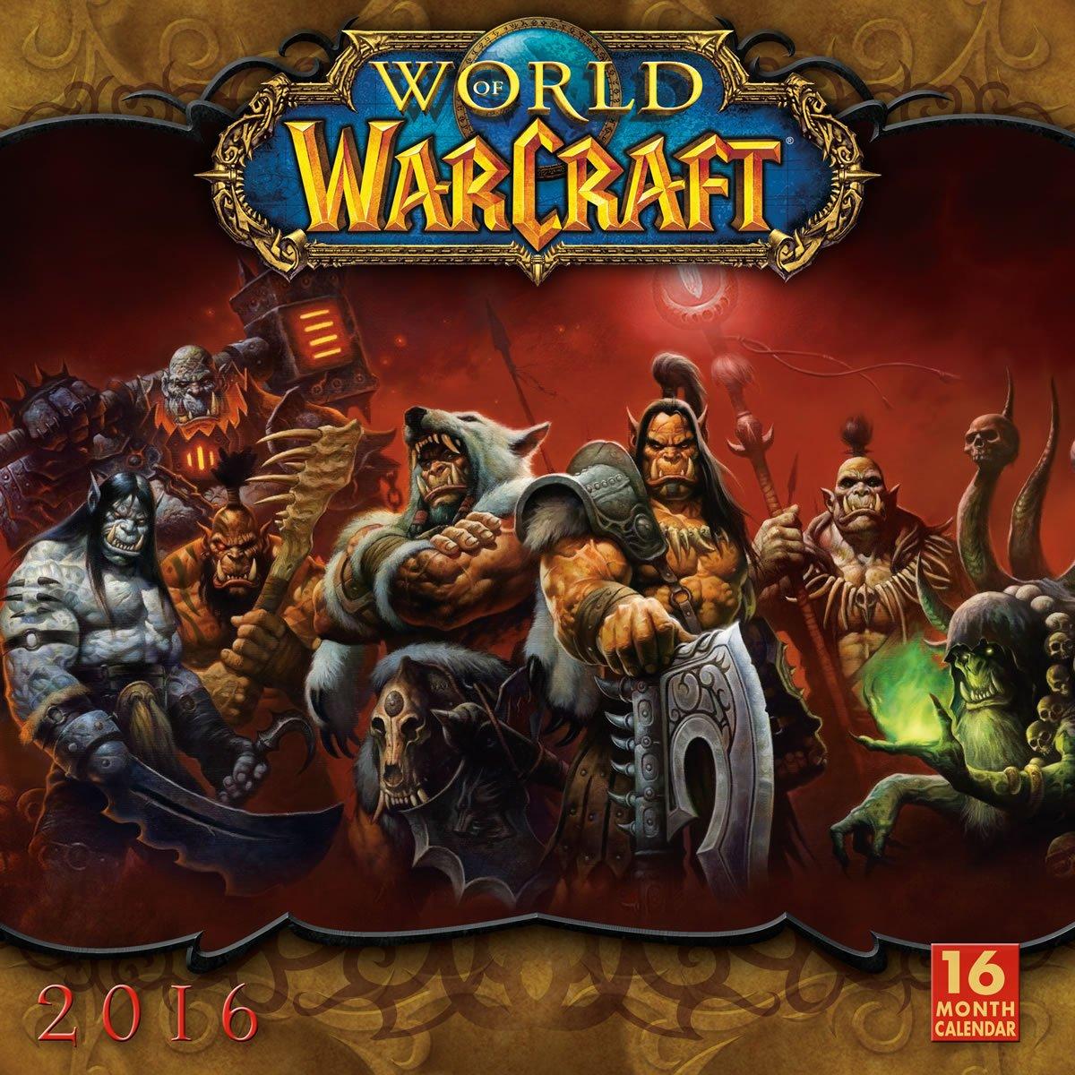 World Of Warcraft 2016 Wall Calendar Blizzard Entertainment 9781416297833 Amazon Com Books