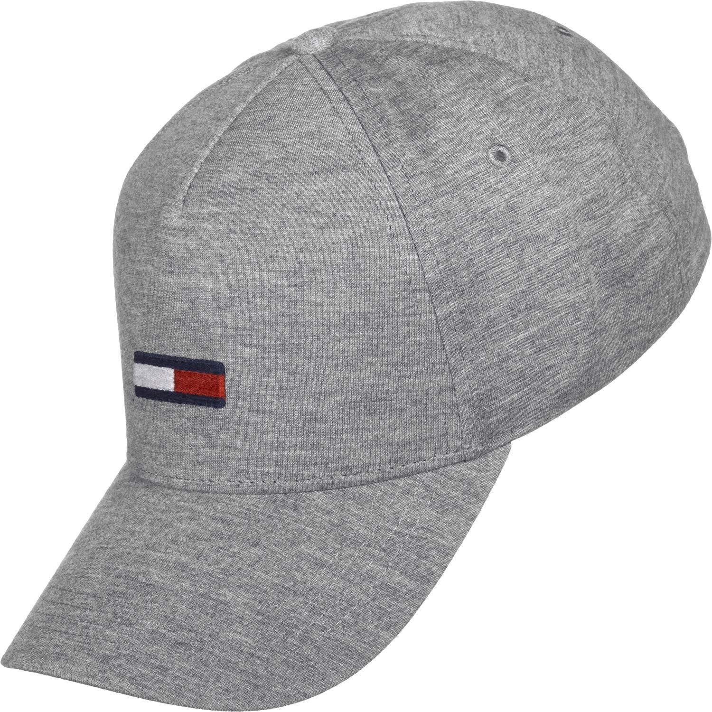 Tommy Hilfiger TJM Flag Cap Jersey Gorra de béisbol, Gris, única ...