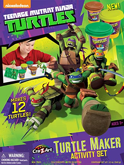 Cra-Z-Art Teenage Mutant Ninja Turtles Mold n Play Activity Set