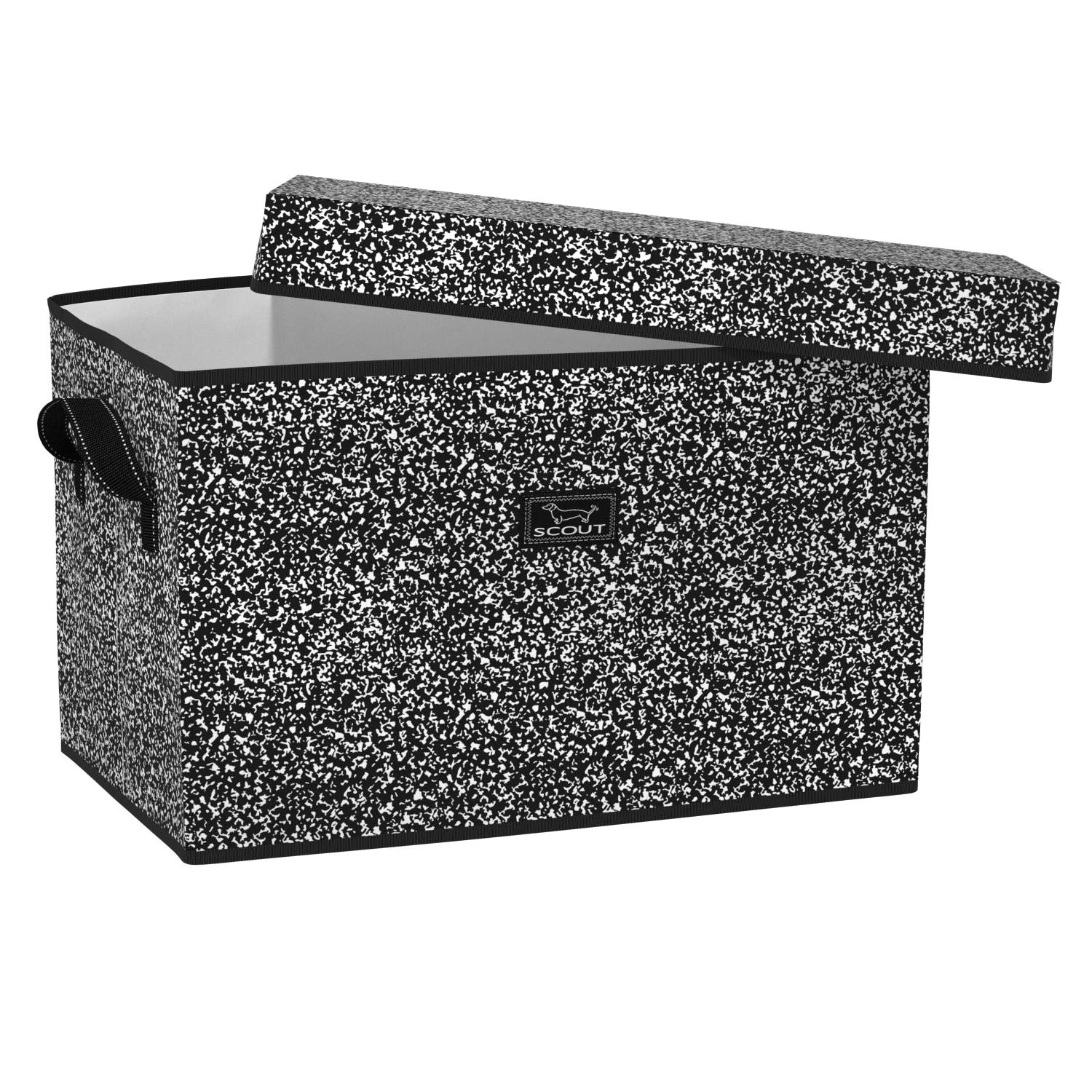 SCOUT Rump Roost Large Storage Bin, Collapsible and Stackable Storage Bin Organizer with Lid (Multiple Patterns Available) by SCOUT