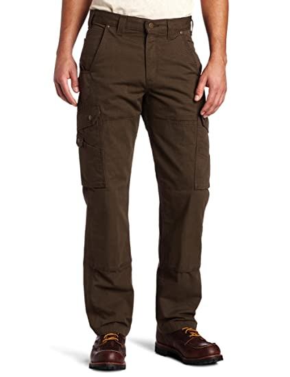 Carhartt Men S Cotton Ripstop Relaxed Fit Work Pant Dark Coffee 32 X 34 Amazon In Clothing Accessories