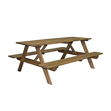 Backyard Discovery 1704817 Cedar Picnic Table