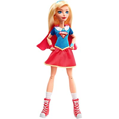 "DC Super Hero Girls Supergirl 12"" Action Doll: Toys & Games"