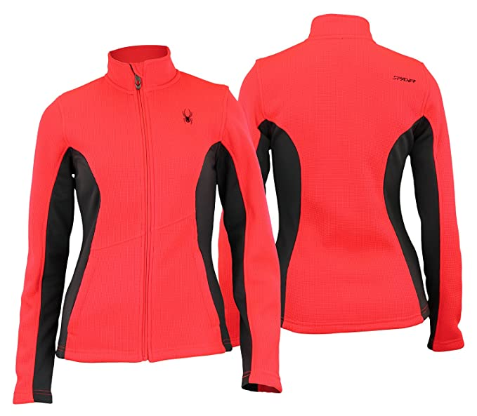 Spyder Womens Constant Full Zip Sweater Color Options At Amazon