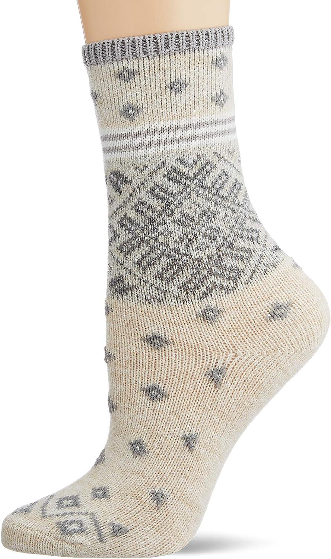 Esprit Socken Norwegian Stripe Baumwolle Wolle Damen Schwarz Grau Viele Weitere Farben Verstärkte Damensocken Mit Muster Atmungsaktiv Warm Dick Bunt Mit Norwegermuster 1 Paar Bekleidung