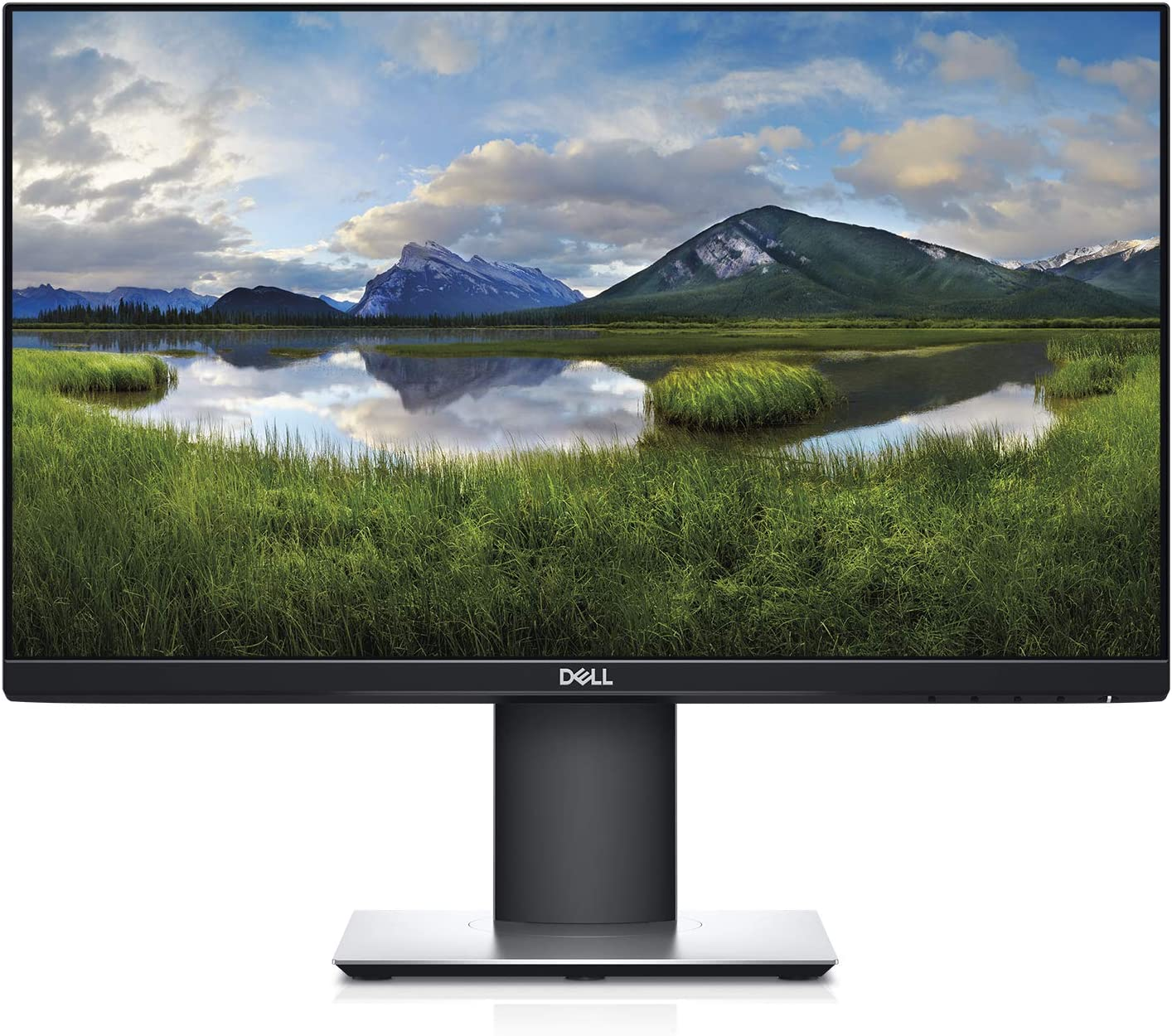 Dell P2719H vertical monitor for office
