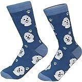 cadf9abc1 Amazon.com   Gdyd210dophf Prissy Poodles Athletic Cushion Crew Socks ...