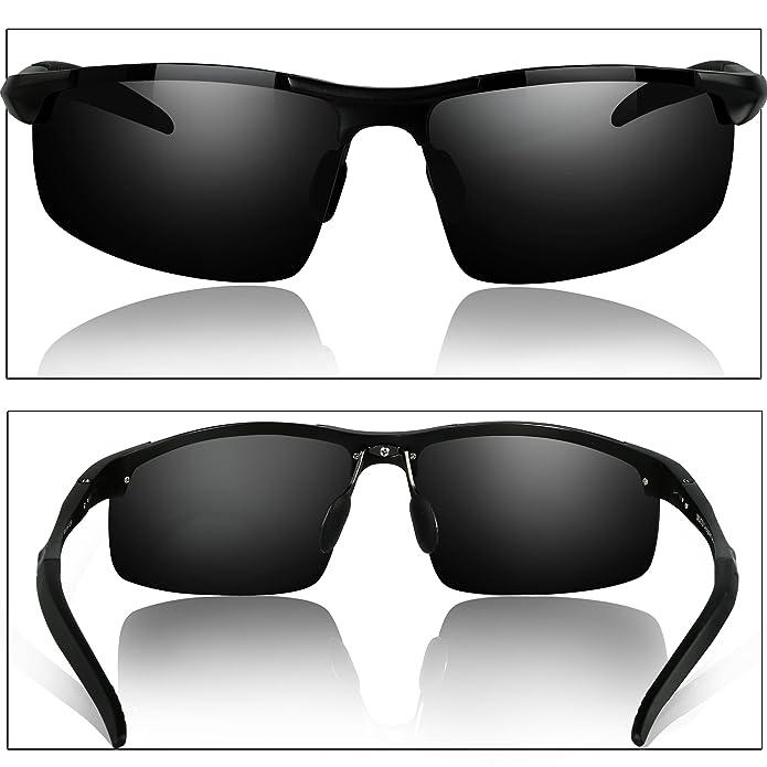 Amazon.com: Duco lentes de sol polarizados para manejo ...