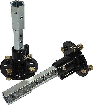 Bricoferr PT00321 Eje de desbloqueo para motoazada (23 mm ...