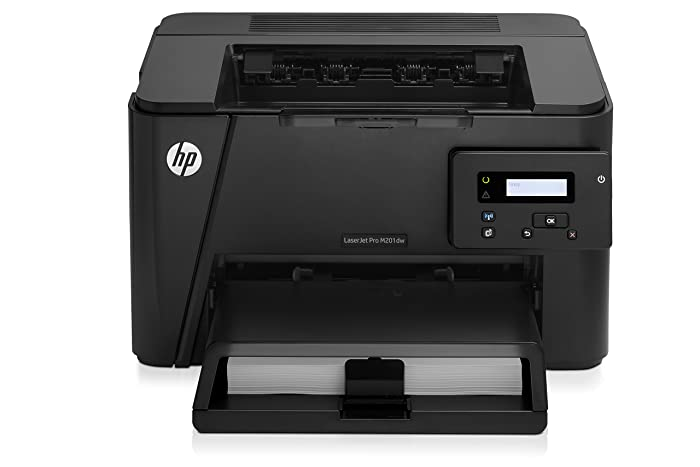 HP Laserjet Pro M201dw Wireless Monochrome Printer, Amazon Dash Replenishment Ready (CF456A)