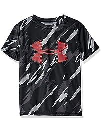 a92168fba681 Under Armour Boys  Tech Big Logo Printed T-Shirt