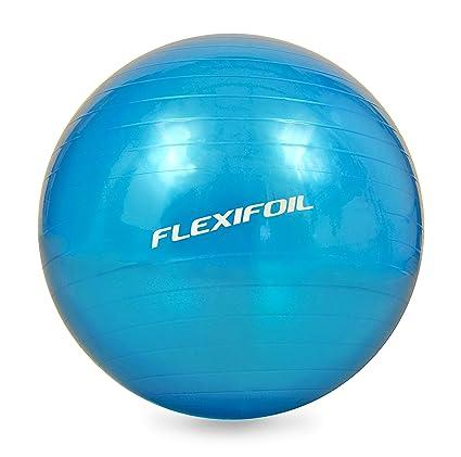 Flexifoil Tallas – Pelota de ejercicios (55 cm/65 cm/75 cm) – Super denso estructura de pared para Ultimate Support y durabilidad. Top Estimada para ...