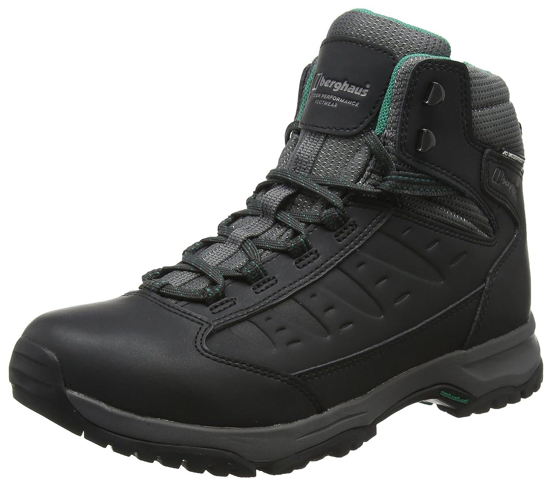 Berghaus Damen Explorer Active M Gore-tex Walking Stiefel Trekking-& Wanderstiefel, schwarz/dunkelgrau, 39.5 EU