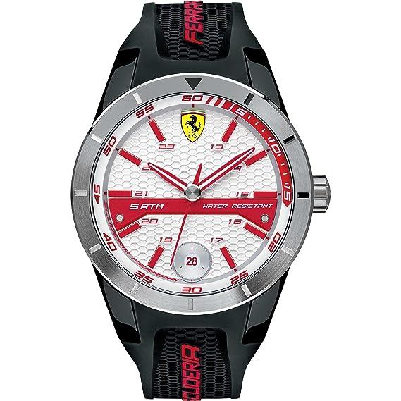 Ferrari - reloj unisex Red Rev T - 0830250