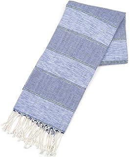 Foutas Commerce /équitable /… Bleu Fonc/é ZusenZomer Fouta de Plage xl MELODI XL 100x170 Bleu Serviette de Plage Drap Hammam Drap de Plage 100/% Coton