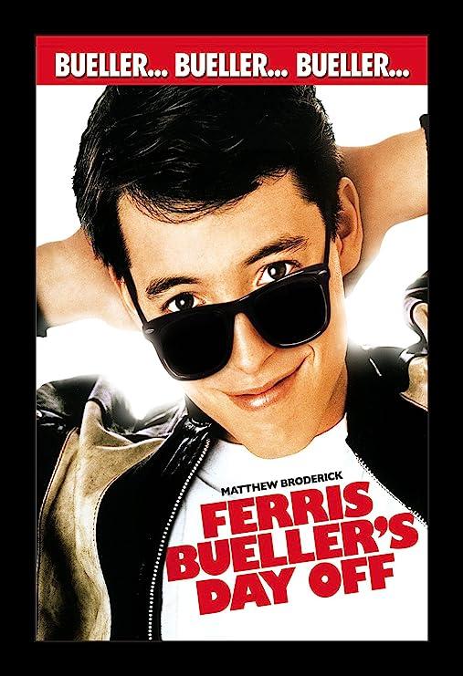 Amazon.com: Wallspace Ferris Bueller's Day Off - 11x17 Framed ...