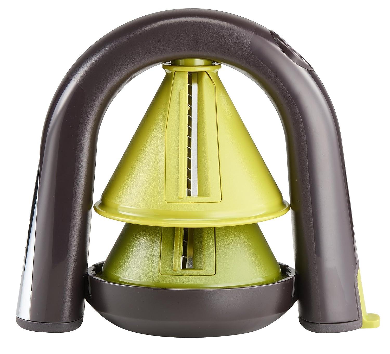 Tefal Ingenio K22980 Spiralschneider, grün/schwarz grün/schwarz K2298014