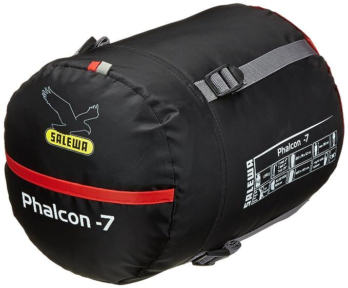 SALEWA Schlafsack Phalcon -7 SB - Saco de dormir momia para acampada, color naranja, talla Izquierda: Amazon.es: Deportes y aire libre