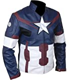 F&H Men's Avengers Captain America Steve Rogers Jacket