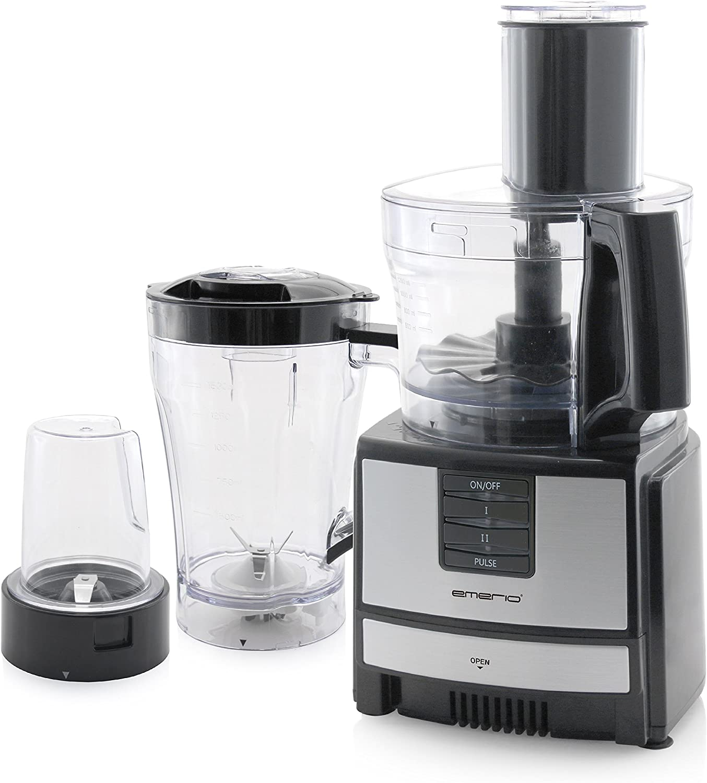 Emerio FP-109503 robot de cocina, 600 W, 1.5 litros, 0 Decibelios ...