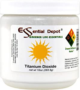 Titanium Dioxide Powder - 10 oz