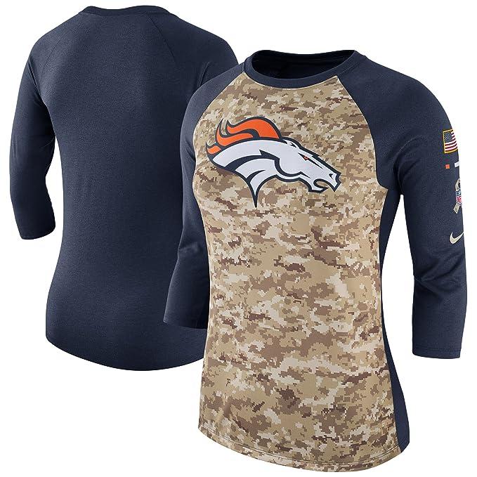 new photos 38426 26c2c NIKE Women's Denver Broncos Camo Salute to Service Legend ...