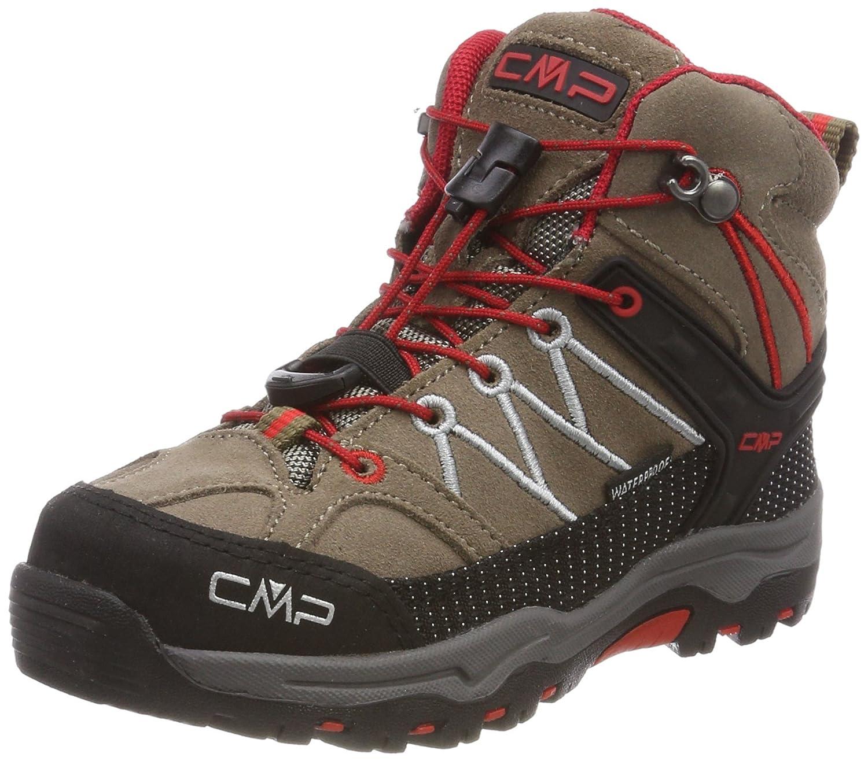Beige Tortora-ferrari 33 EU CMP Campagnolo Rigel Mid WP, Chaussures de Randonnée Hautes Mixte Adulte