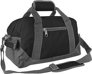 DALIX 14' Small Duffle Bag Two Toned Gym Travel Bag
