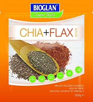 Amazon.com: Bioglan – Superfoods Chia & de semillas de lino ...