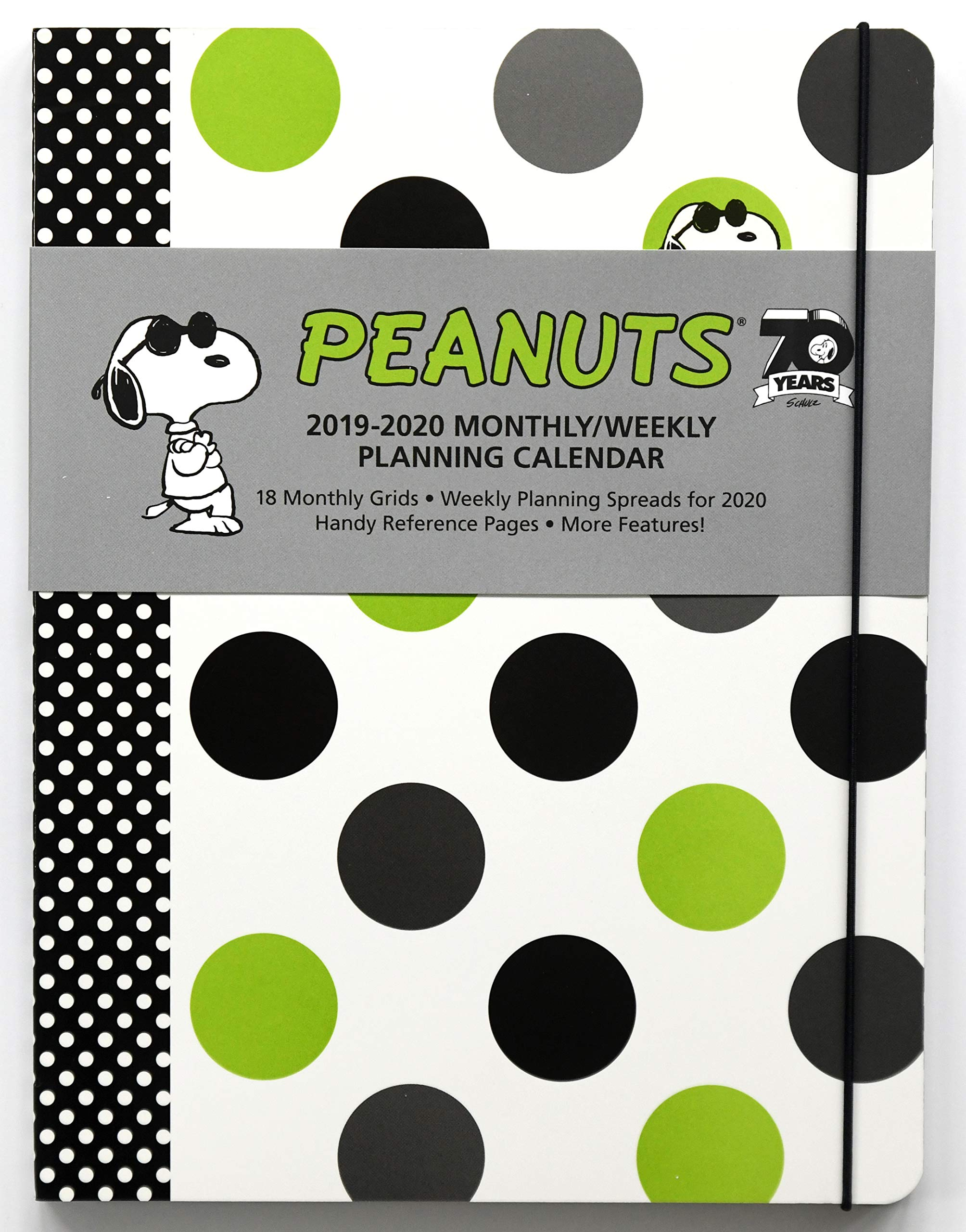 Peanuts 2019-2020 Monthly/Weekly Diary Planner: Amazon.es ...