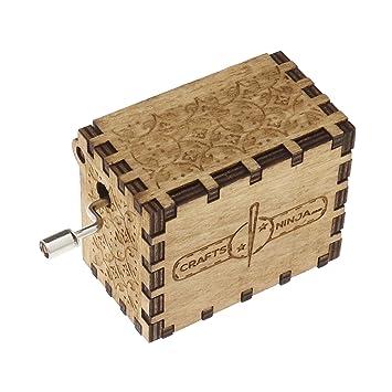 Harry Potter Music Box Vintage clásico Manivela Caja de música ...
