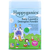 Happyganics Natural and Safe Baby Laundry Detergent Powder (Unscented)